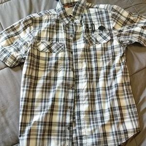 Harley Davidson plaid shirt